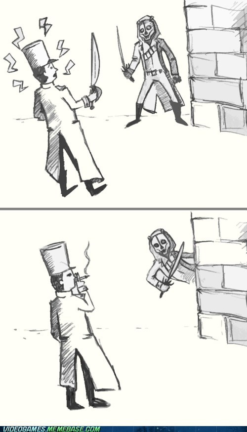 dishonored video game logic comic hidden