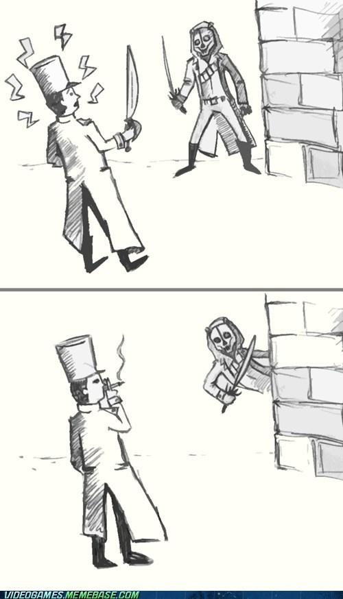 dishonored video game logic comic hidden - 6680838912
