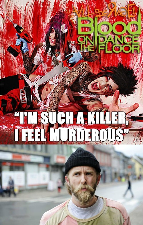 blood on the dance floor,varg vikernes,killer