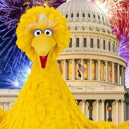 big bird election 2012 million muppet march - 6680891136