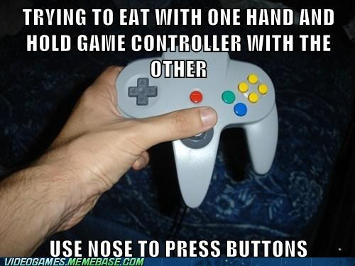 Multitasking,nintendo 64,buttons,controllers