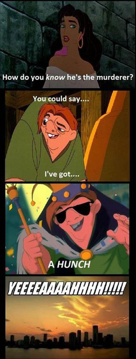 funny disney Movie The Hunchback of Notre-Dame TV csi - 6681003264