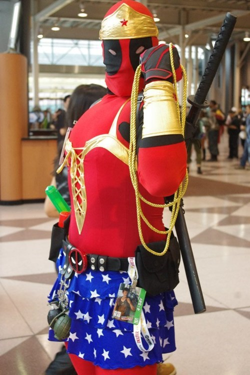 cosplay deadpool wonder woman - 6681031424