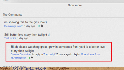 twilight,youtube,love