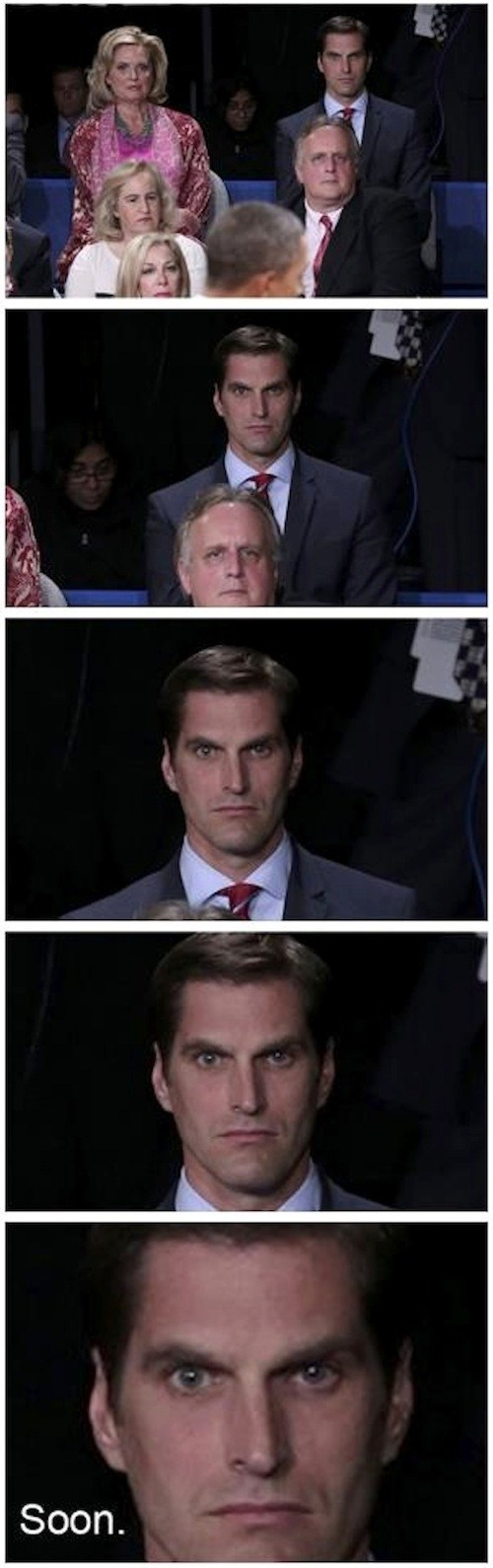 Josh Romney Ann Romney barack obama Staring reaction SOON debate Mitt Romney - 6681173504