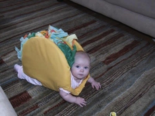 baby costumes taco - 6681362944