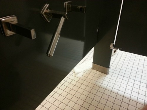 bathroom toilet paper stall nooooo Awkward - 6681698816