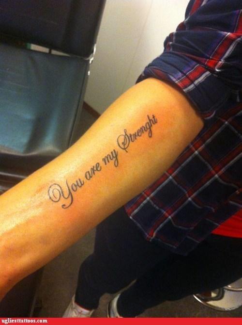 misspelled tattoos arm tattoos - 6681718528
