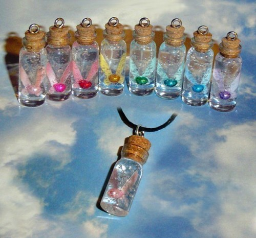 necklace zelda fairies bottle quiet