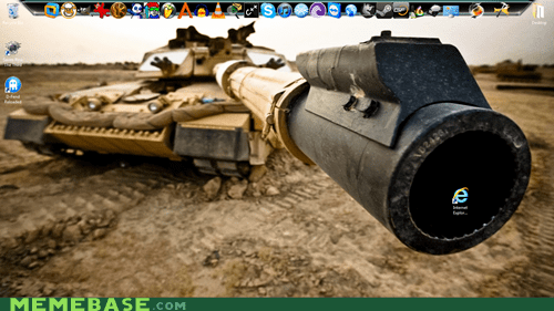 cannon desktop open fire internet explorer - 6681825792