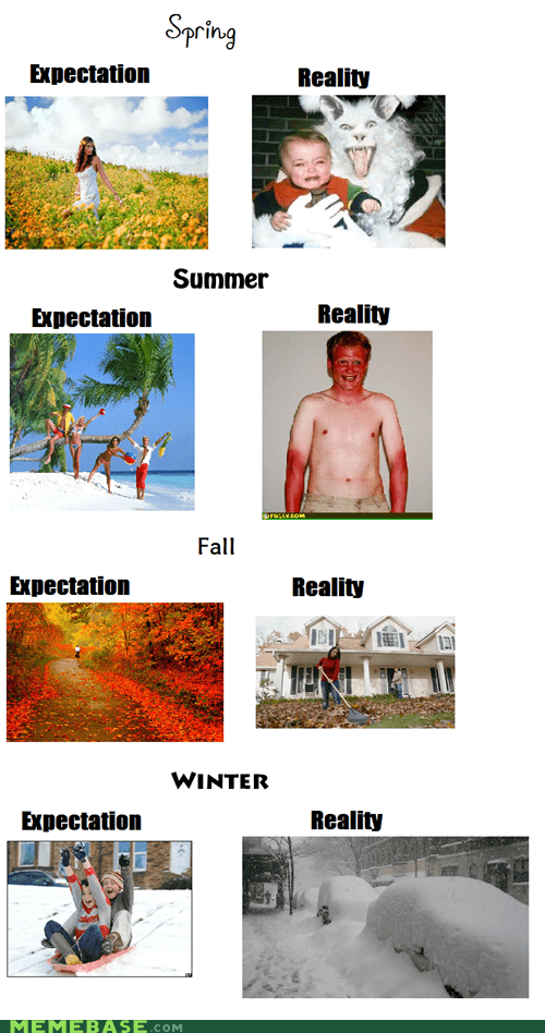 seasons spring summer autumn not fall winter expectation reality - 6681828608