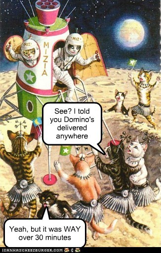 Cats,space,Aliens,pizza,delivery
