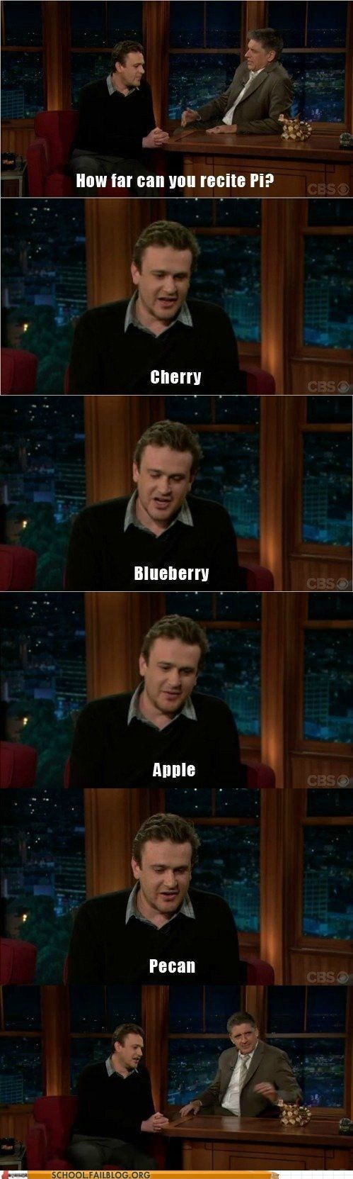 mmm math,pi,pies,jason segel