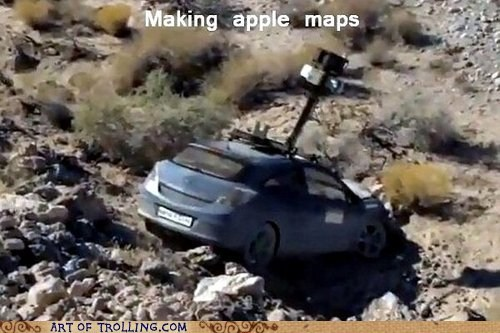 apple maps IRL apple - 6682505984
