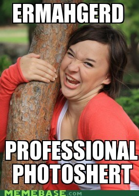 profession photoshop Ermahgerd