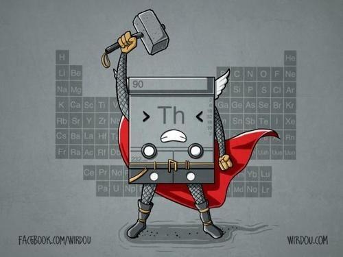 Thor,thorium,chemistry 502