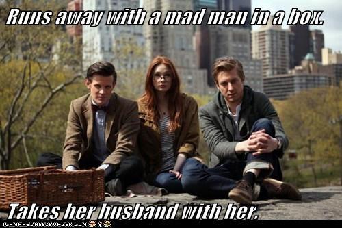 rory williams karen gillan the doctor Matt Smith husband doctor who meme amy pond arthur darvill - 6683327744
