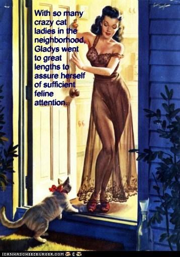 cat woman lingerie door bow - 6683471360