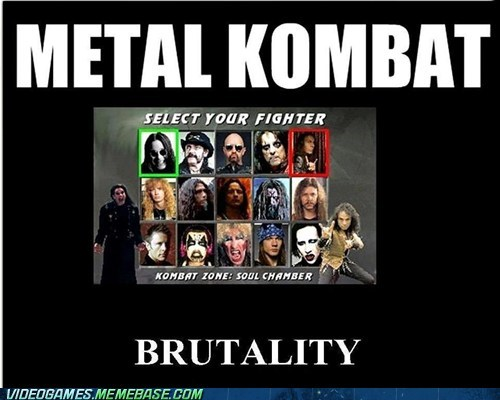 Mortal Kombat metal Music