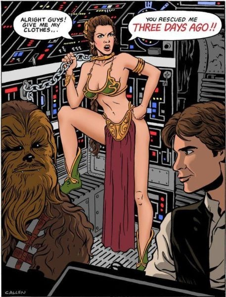 star wars Princess Leia comic - 6683816448