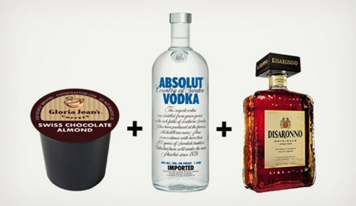 yes please vodka absolut swiss chocolate the Roosevelts - 6684052736
