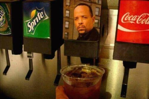 ice t,soda fountain