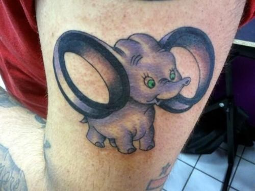 dumbo,ear gauge