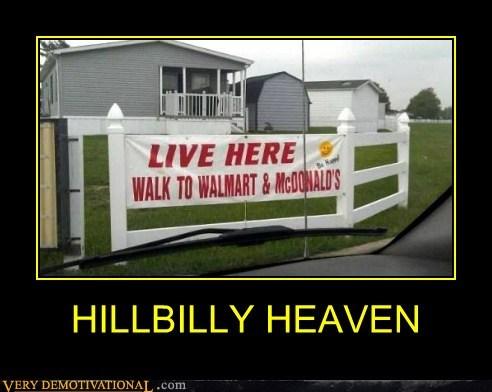 hillbilly,Walmart,heaven