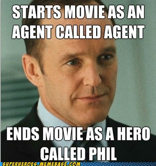 agent coulson hero avengers shield