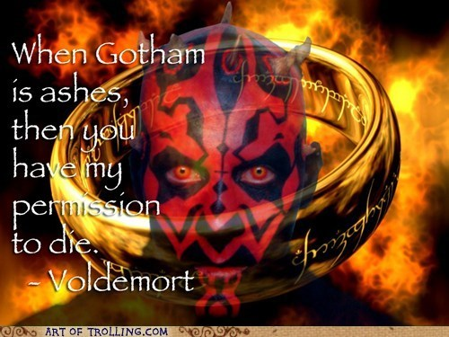 misquotes,batman,Lord of the Rings,star wars
