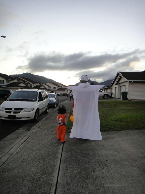 halloween,trick or treat,Dragon Ball Z,cosplay,ghoulish geeks,g rated,parenting