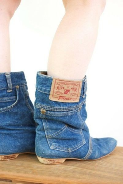 jeans boots - 6684336640