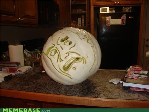 costume pumpkins seriously gross face - 6684526848