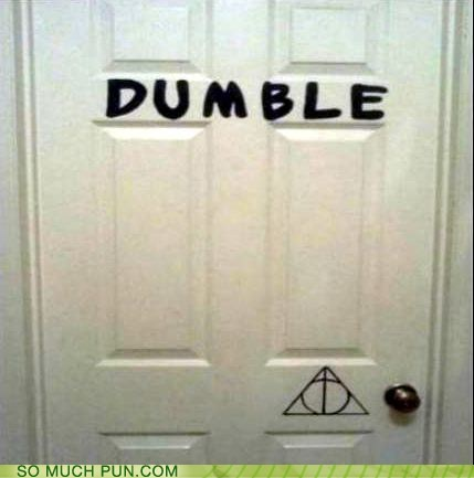 classic dumbledore Harry Potter literalism double meaning - 6684706048