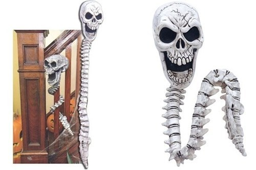 spine Mortal Kombat halloween decor skull home