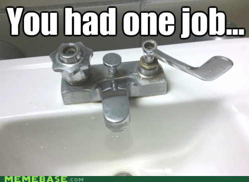 faucet,one job,school