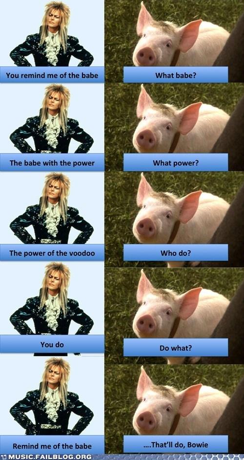 david bowie babe pig - 6685090304