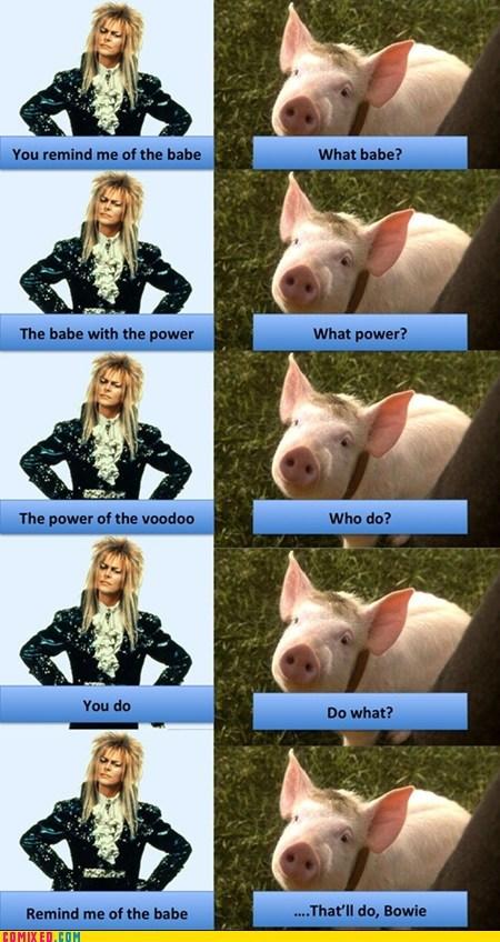 Movie david bowie babe bacon - 6685090816