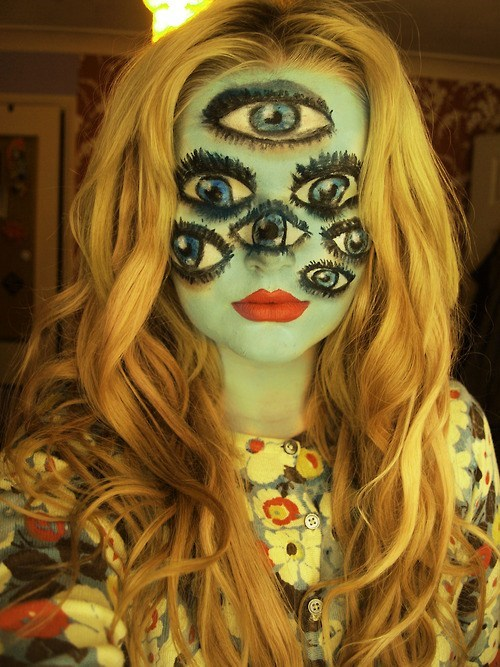 makeup halloween costume spooky - 6685410048