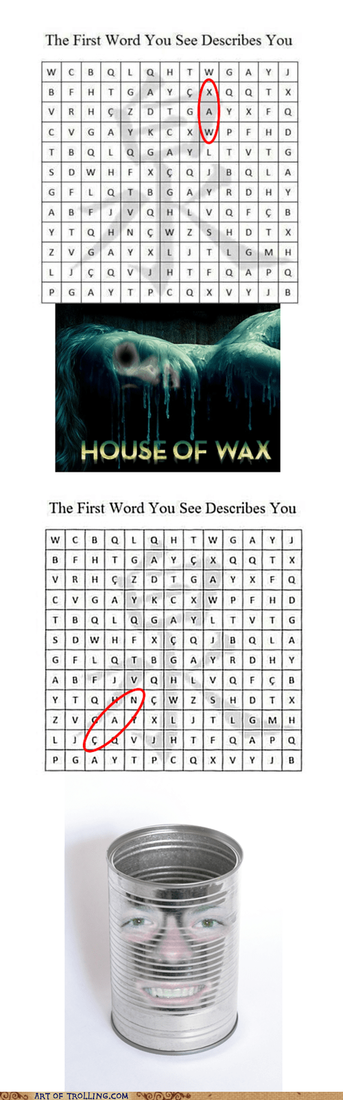 word search,wax,can,re-frames
