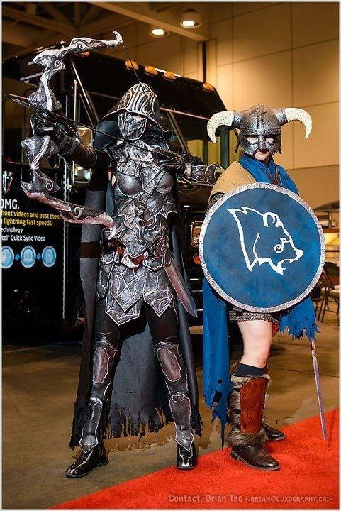 Skyrim the elder scrolls nightingale armor cosplay video games - 6685676288