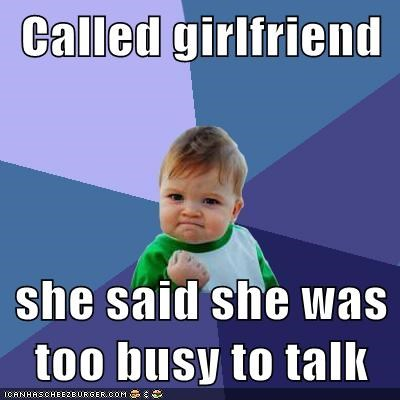 busy girlfriend meme