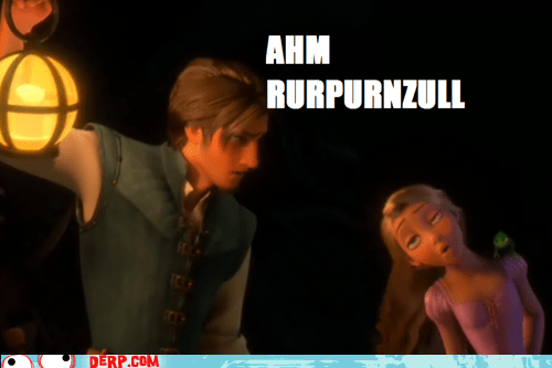 rapunzel tangled Movie pause derp - 6686385920