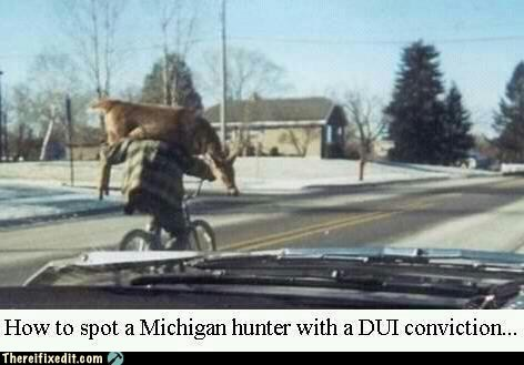 michigan hunter they see me rollin dui drunk driving - 6686412800