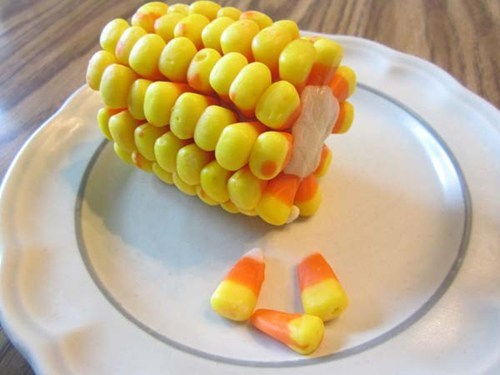 candy corn halloween corn on the cob - 6686883328