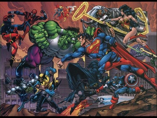 DC justice league marvel The Avengers - 6686884864
