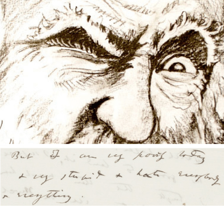 charles darwin,bad day,letter,From The Archives