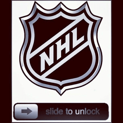 if only slide to unlock lockout NHL hockey - 6687157504