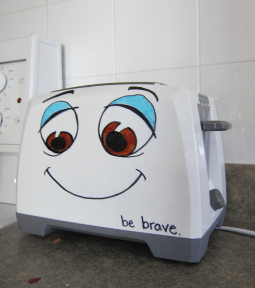 brave little toaster toaster IRL cute