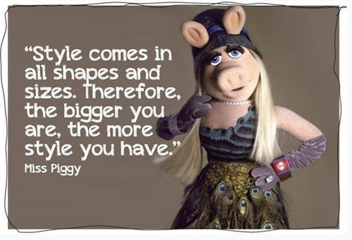 miss piggy,style,body types
